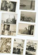 LOT 18 PETITES PHOTOS - BATEAU - MARINS - MARINE NATIONALE - WW2