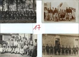 CARTES PHOTOS  GUERRE 1914 / 1918 - Non Situé, Vendu Tel Quel. (n° 17) - Guerre 1914-18