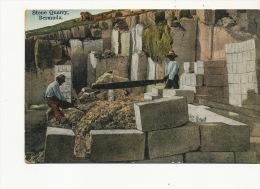 Bermuda Stone Quarry Carriere De Pierre Scieur De Long Edit Yankee Store No7 - Bermudes