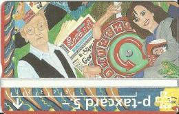 PTT p: 308L Schweizer Illustrierte, Kunst-Taxcard, Peter von Wattenwyl. mint