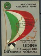 "1983, Udine, ""56° Adunata Nazionale Alpini"". - Régiments"
