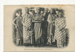 Comores Sultanat Anjouan Beautés Anjouanaises Timbrée 1913 Timbrée Mayotte Timbre Mada Mutsamudu - Comoros