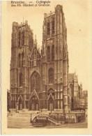 Cpa  BRUXELLES Collegiale Des Ss Michel Et Gudule - Belgique