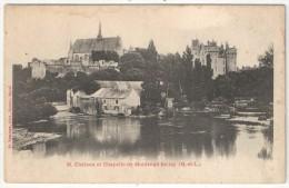 49 - MONTREUIL-BELLAY - Château Et Chapelle - Voelcker 35 - Montreuil Bellay
