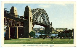 Sydney, Harbour Bridge From The North Shore,  5.3..1958, Stamps - Sydney