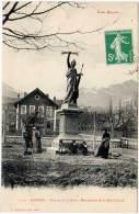 Savines - Avenue De La Gare - Monument De La République - Autres Communes