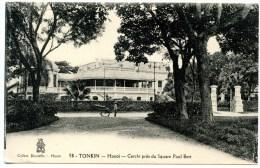 Tonkin, Hanoi, Cercle Pres Du Square Paul Bert, 12.1.1929 - Vietnam
