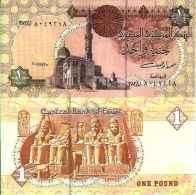 Egypte 1 POUND Pick 50h NEUF - Egypt