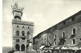 """1958, Repubblica S. Marino - """"Piazza Libertà E Palazzo Del Governo"""" - San Marino"""