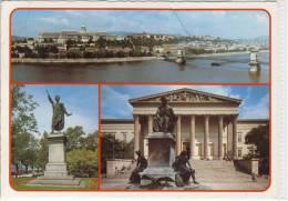 BUDAPEST  -  Multi View, Mehrfachansicht - Ungarn
