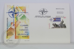 FDC 1997 Barcelona - The North Atlantic Treaty Organization NATO - Militares