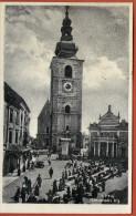 PTUJ -  Slovenski Trg  ( Slovenia ) * Travelled 1937. To Famous Person Cvito Fiskovic * By Zal. V. Blanke , Ptuj - Slovenia