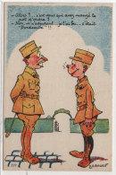A.G. BADERT - Humour Militaire     (73306) - Illustrators & Photographers