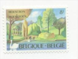 SWAN**BIRDS-BELGIUM-MNH-CYGNE**Oiseau-1983-Zwaan-Schwan-Birds-Mouscron - Swans