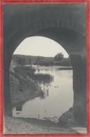 67 - HERBITZHEIM - Carte Photo - Sous Le Pont - Lavandière - France