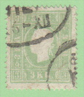 """AUT SC #8  1859 Emp. Franz Josef  """"WIE_/12-6"""", CV $140.00 - 1850-1918 Empire"""