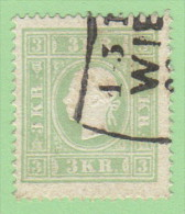 AUT SC #8  1859 Emp. Franz Josef, CV $140.00 - 1850-1918 Empire