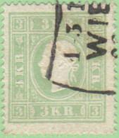 AUT SC #8  1859 Emp. Franz Josef, CV $140.00 - Used Stamps