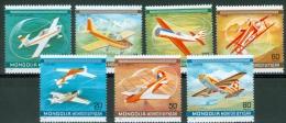 Mongolia 1980 Airplane MNH** - Lot. 3203 - Mongolia