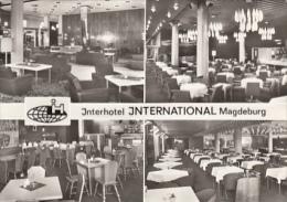 5461- MAGDEBURG- INTERNATIONAL HOTEL, RESTAURANT, LONGE, LOBBY, POSTCARD - Magdeburg
