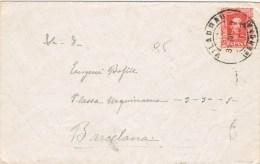 10724. Carta VILADRAU (Gerona) 1929 A Barcelona - Cartas