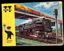 Catalogue ROKAL TT 12mm Catalog N Scale Miniature Train Railways  Germany ZUG ModellBahn - Echelle N