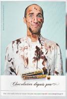 24016 Carte Publicitaire . Menthos Chocolat Chocolatier Depuis Peu Bonbon -2014DDB -mentos Choco