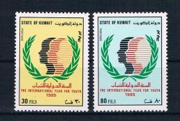 Kuwait 1985 Jugend Mi.Nr. 1065/66 Kpl. Satz **