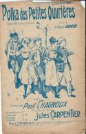 Polka Des Petites Ouvriéres/ Gordi/ Chagnoux /Carpentier/ 1921     PART56 - Partitions Musicales Anciennes