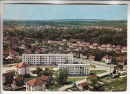 MIGENNES 89 - Vue Panoramique Aérienne  ( HLM Cité Ensemble Immobilier Lotissement ) - CPSM Dentelée GF 1972  - Yonne - Migennes
