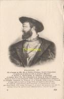 CPA COLLECTION DE PORTRAITS HISTORIQUES CELEBRES ND **  FRANCOIS I - Personnages Historiques