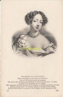 CPA COLLECTION DE PORTRAITS HISTORIQUES CELEBRES ND **  DUCHESSE DE FONTAGNES - Personnages Historiques