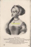 CPA COLLECTION DE PORTRAITS HISTORIQUES CELEBRES ND **  ANNE BOLEYN - Personnages Historiques