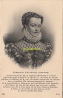 CPA COLLECTION DE PORTRAITS HISTORIQUES CELEBRES ND **  ELISABETH D'AUTRICHE - Personnages Historiques