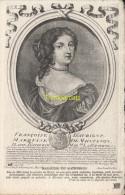 CPA COLLECTION DE PORTRAITS HISTORIQUES CELEBRES ND **  FRANCOISE D'AUBIGNY MARQUISE DE MAINTENON - Personnages Historiques