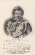 CPA COLLECTION DE PORTRAITS HISTORIQUES CELEBRES ND **  NAPOLEON I - Personnages Historiques