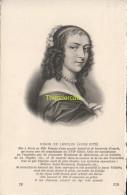 CPA COLLECTION DE PORTRAITS HISTORIQUES CELEBRES ND **  NINON DE LENCLOS - Personnages Historiques