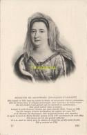 CPA COLLECTION DE PORTRAITS HISTORIQUES CELEBRES ND **  MARQUISE DE MAINTENON - Personnages Historiques
