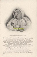 CPA COLLECTION DE PORTRAITS HISTORIQUES CELEBRES ND **  MARQUISE DE BRINVILLIERS - Personnages Historiques