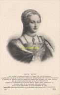 CPA COLLECTION DE PORTRAITS HISTORIQUES CELEBRES ND **  JANE GREY - Personnages Historiques