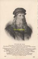 CPA COLLECTION DE PORTRAITS HISTORIQUES CELEBRES ND **  LEONARD DE VINCI - Personnages Historiques