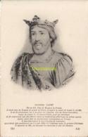 CPA COLLECTION DE PORTRAITS HISTORIQUES CELEBRES ND **  HUGUES CAPET - Personnages Historiques