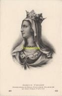 CPA COLLECTION DE PORTRAITS HISTORIQUES CELEBRES ND **   ISABELLE D'ARAGON - Personnages Historiques