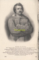 CPA COLLECTION DE PORTRAITS HISTORIQUES CELEBRES ND **   HONORE DE BALZAC - Personnages Historiques
