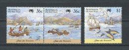 AUSTRALIE 1987 N° 1004/1006 ** Neufs  = MNH Superbes Cote 5 € Départ De Ténérife Port Santa Cruz Bateaux Boats Sailboat - Ungebraucht