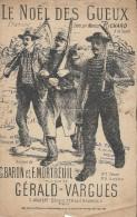Le Noël Des Gueux/ Marius Richard/ Baron & Mortreuil/ Gérald-Vargues/Joubert/ Vers 1920    PART57 - Partitions Musicales Anciennes