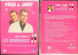 DVD Video : FRED & JAMY Vous Expliquent Les GENERIQUES Documentaire Médical - Documentary