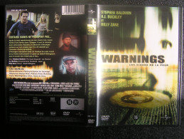 DVD Video : WARNINGS Les Signes De La Peur Avec Stephen BALDWIN Label UFO - Fantasy