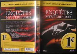 DVD Video : LES GRANDES ENQUETES MYSTERIEUSES Policier - Policiers