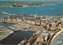 SAINT MALO - La Ville Intra-muros - Vue Aérienne - Saint Malo